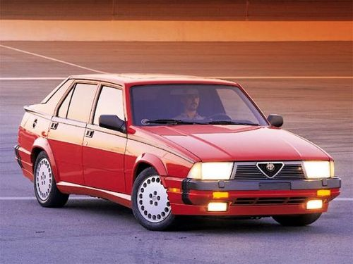 Alfa Romeo 75 Sedan Od 1986 do 1992