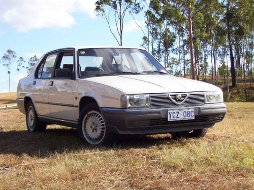 Alfa Romeo Alfa 6 Sedan Od 1983 do 1986