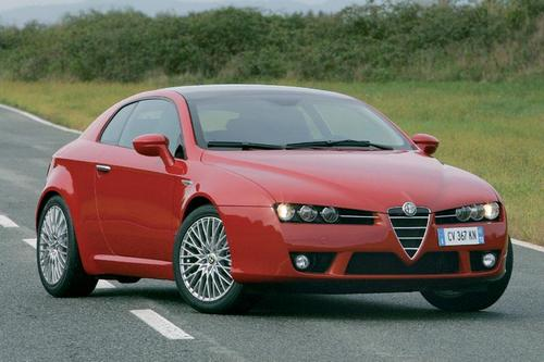 Alfa Romeo Brera Coupé Od 2006 do 2010