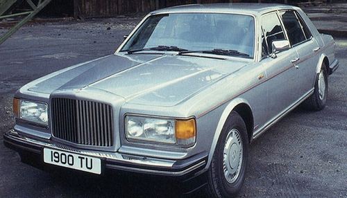 Bentley Eight Sedan Od 1984 do 1992