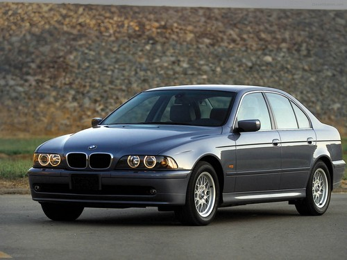 BMW 5-Series Sedan Od 1996 do 2003