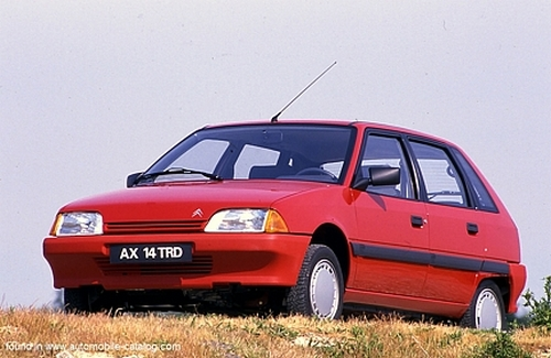 Citroen AX Hatchback Od 1987 do 1997