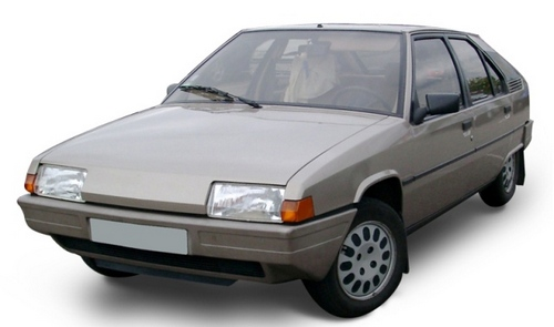 Citroen BX Hatchback Od 1984 do 1993