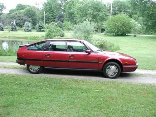 Citroen CX Uniwersal Od 1986 do 1991