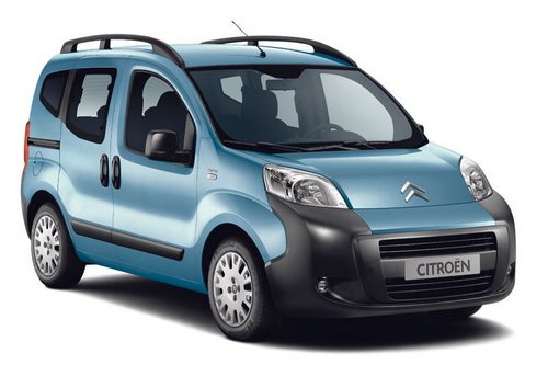Citroen Nemo Multispace Minivan Od 2009 do 2012