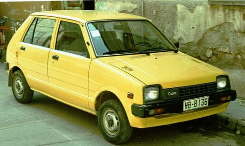 Daihatsu Domino Hatchback Od 1982 do 1989