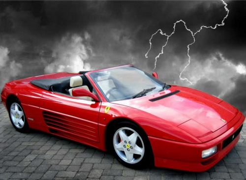 Ferrari 348 Kabriolet Od 1993 do 1995