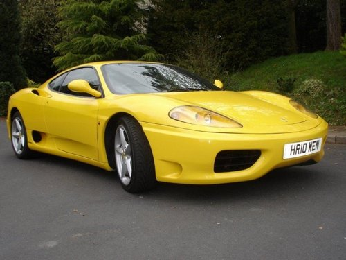 Ferrari 360 Coupé Od 1999 do 2004