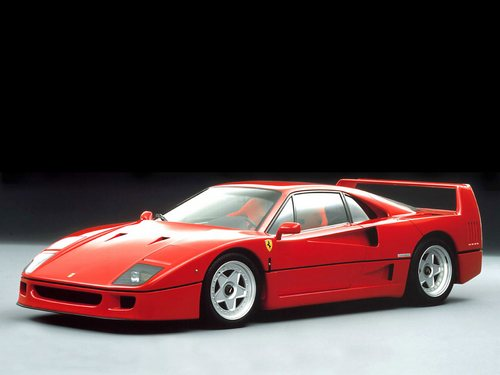 Ferrari F40 Coupé Od 1987 do 1992