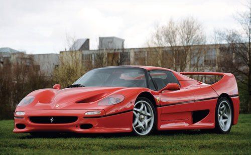Ferrari F50 Coupé Od 1996 do 1998