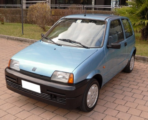 Fiat Cinquecento Hatchback Od 1993 do 1998