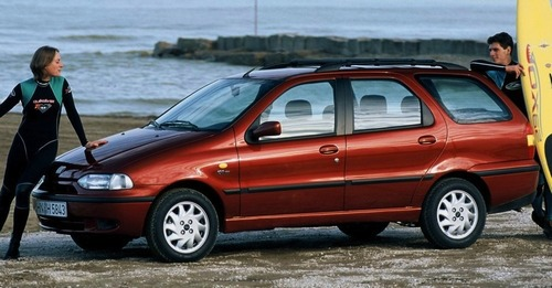 Fiat Palio Weekend Uniwersal Od 1997 do 2001