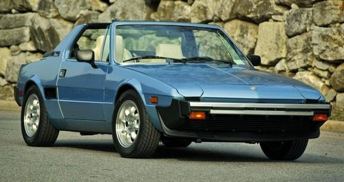 Fiat X1/9 Coupé Od 1986 do 1989