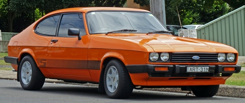 Ford Capri Hatchback Od 1984 do 1987
