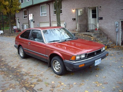 Honda Accord Hatchback Od 1982 do 1985
