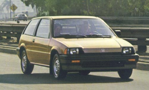Honda Civic Uniwersal Od 1984 do 1988
