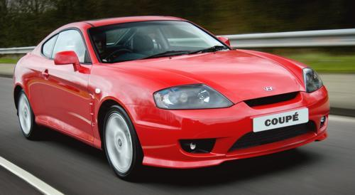 Hyundai Coupe Od 2002 do 2009