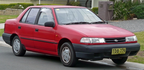 Hyundai Excel  Sedan Od 1994 do 1998