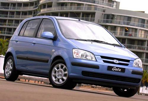 Hyundai Getz Hatchback Od 2002 do 2009