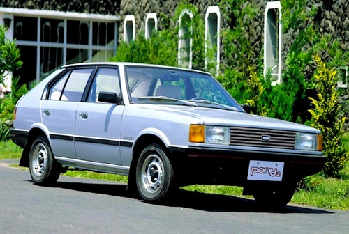 Hyundai Pony Hatchback Od 1985 do 1991