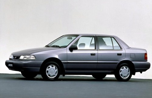 Hyundai Pony X2 Sedan Od 1990 do 1993