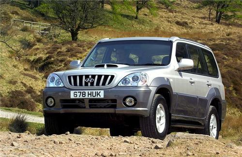Hyundai Terracan Crossover (Terenówka) Od 2003 do 2007