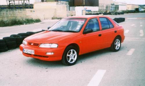 Kia Mentor Hatchback Od 1996 do 1999