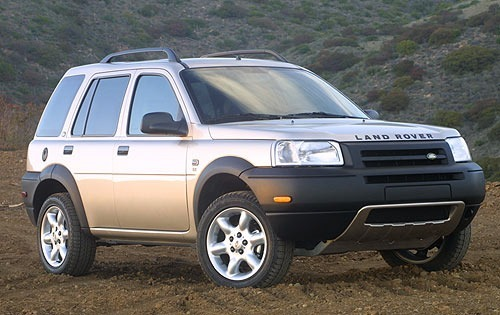Land Rover Freelander Crossover (Terenówka) Od 1997 do 2003