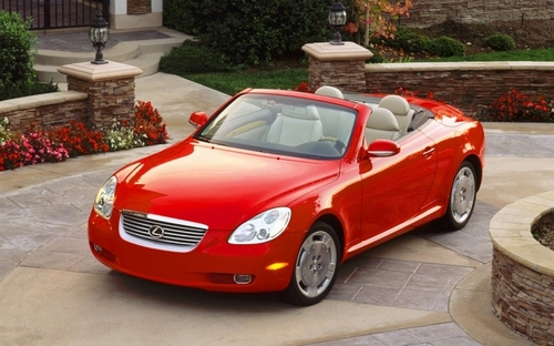 Lexus SC Roadster Od 2001 do 2009