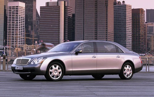 Maybach 62 Sedan Od 2003 do dziś