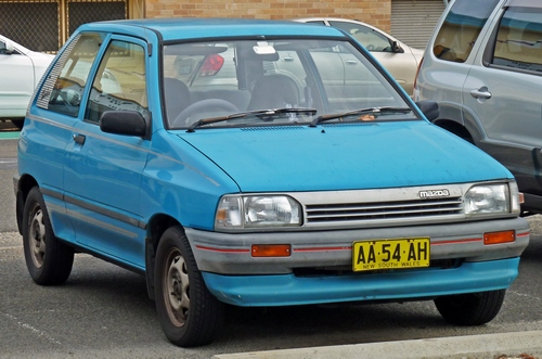 Mazda 121 Hatchback Od 1988 do 1991