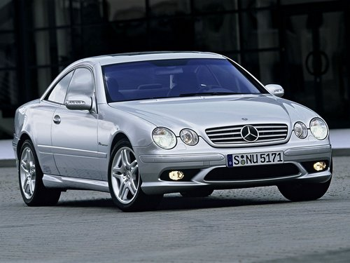 Mercedes-Benz CL Coupé Od 2000 do 2005