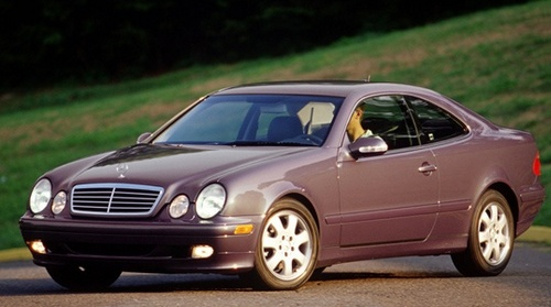 Mercedes-Benz CLK Coupé Od 1997 do 2002