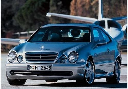 Mercedes-Benz CLK Coupé Od 2002 do 2009