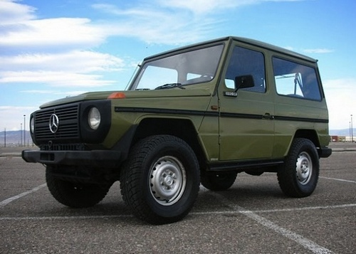 Mercedes-Benz G-Wagen Crossover (Terenówka) Od 1981 do 1995