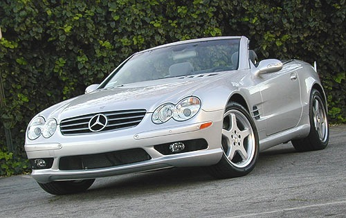 Mercedes-Benz SL-Class Kabriolet Od 2002 do 2011