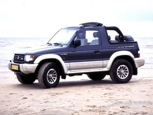 Mitsubishi Pajero Soft Top Od 1983 do 1985