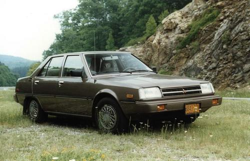 Mitsubishi Tredia Sedan Od 1982 do 1985
