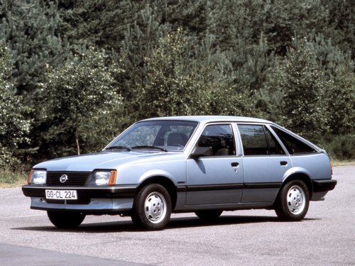 Opel Ascona  Hatchback Od 1981 do 1984