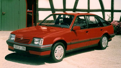 Opel Ascona  Hatchback Od 1984 do 1988