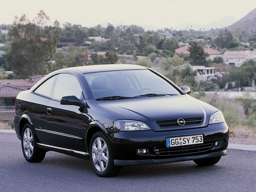 Opel Astra Coupé Od 2000 do 2006