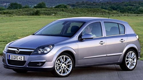 Opel Astra  Hatchback Od 2004 do 2007