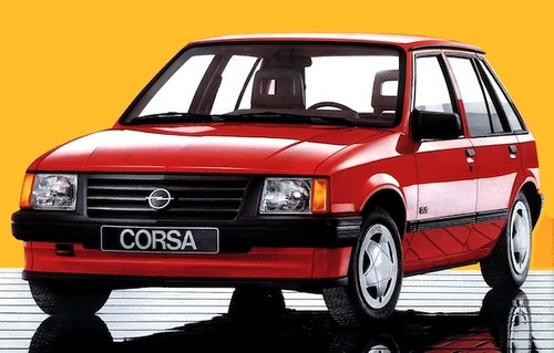 Opel Corsa  Sedan Od 1990 do 1992