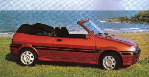 Rover 100 Kabriolet Od 1995 do 1997