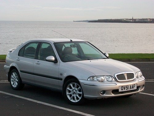 Rover 45 Hatchback Od 2000 do 2004
