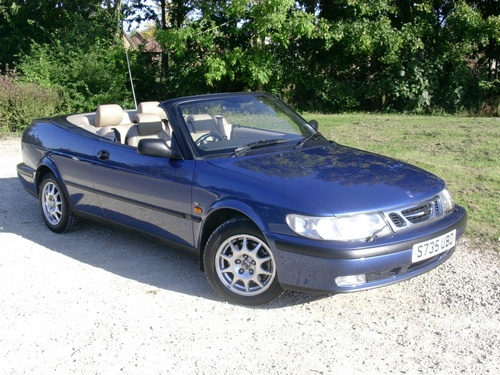 Saab 9-3 Kabriolet Od 1998 do 2003