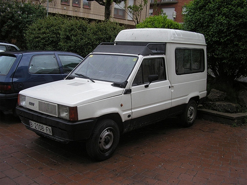 SEAT Terra Vista Uniwersal Od 1989 do 1993