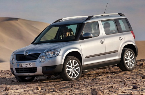 Skoda Yeti Hatchback Od 2009 do dziś