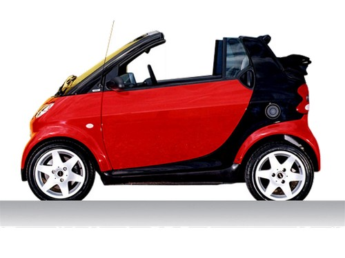 Smart City Kabriolet Od 2001 do 2004