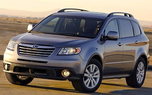 Subaru B9 Tribeca Hatchback Od 2006 do 2007